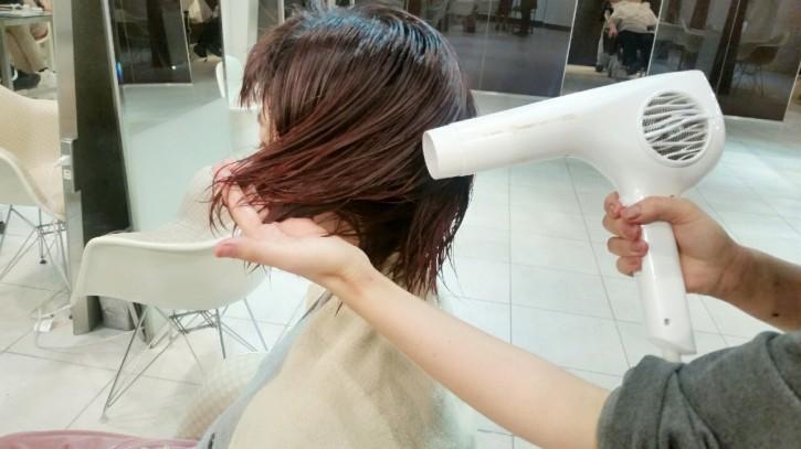 正しい髪の乾かし方