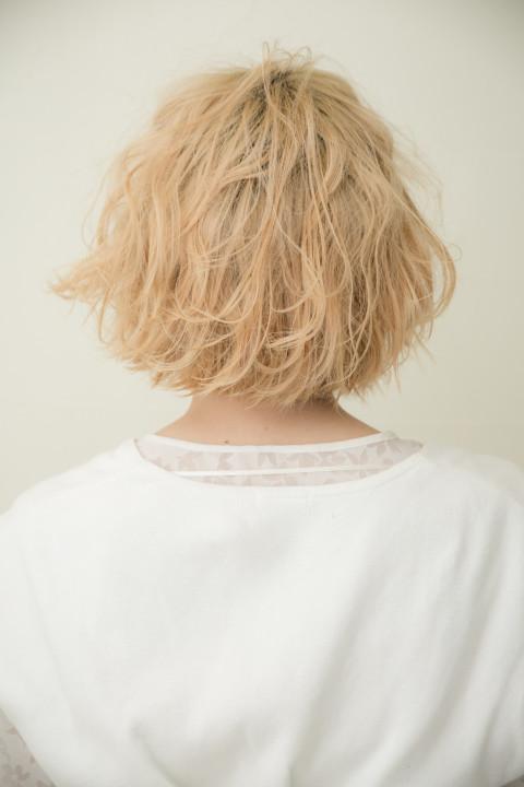 short hair 伊藤和明 ACQUA aoyama kazuaki ito ショートヘア