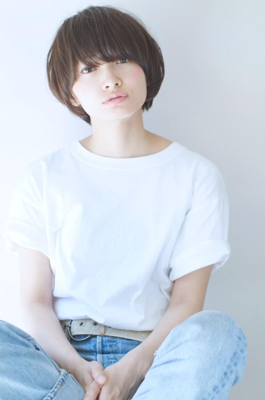 髪型】エアリーマッシュショート