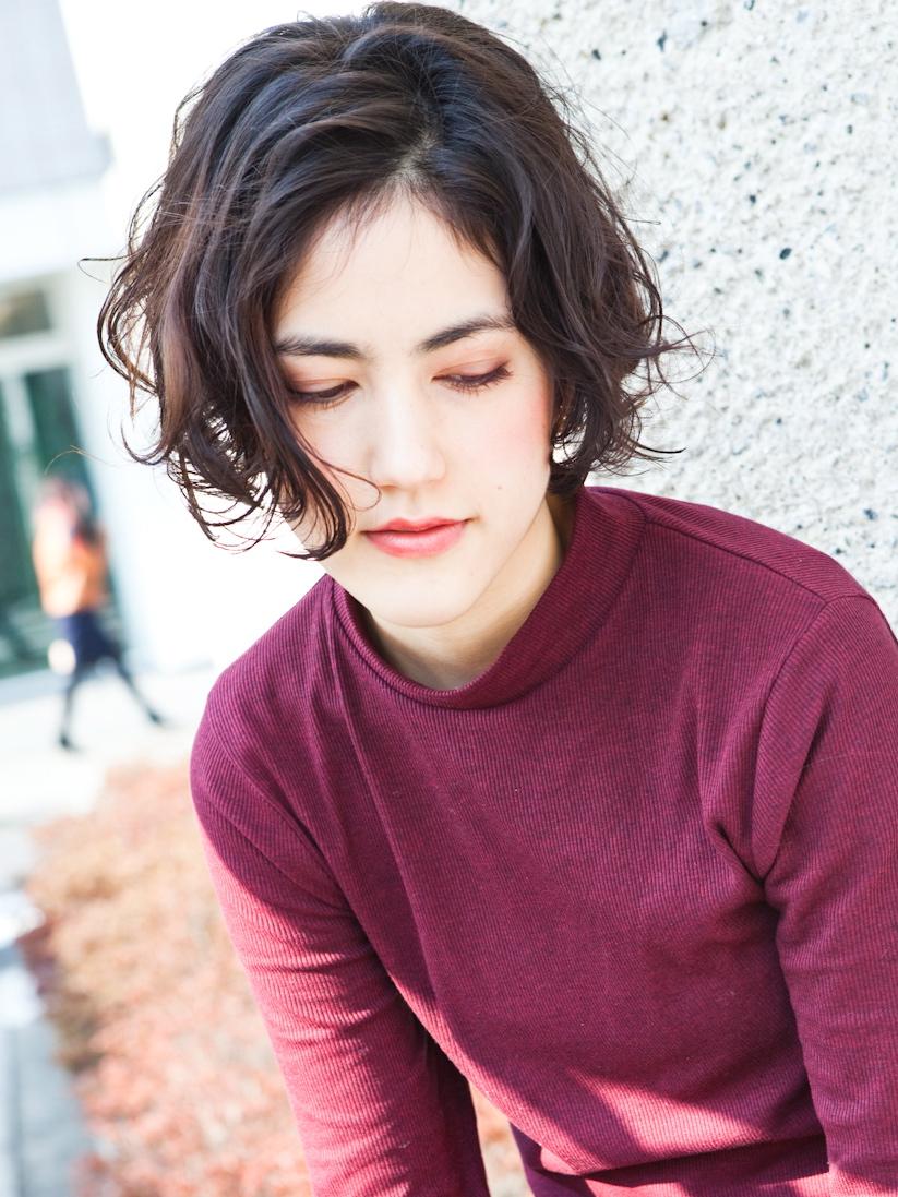 ACQUA      くせ毛を生かす【ショートヘアー】①