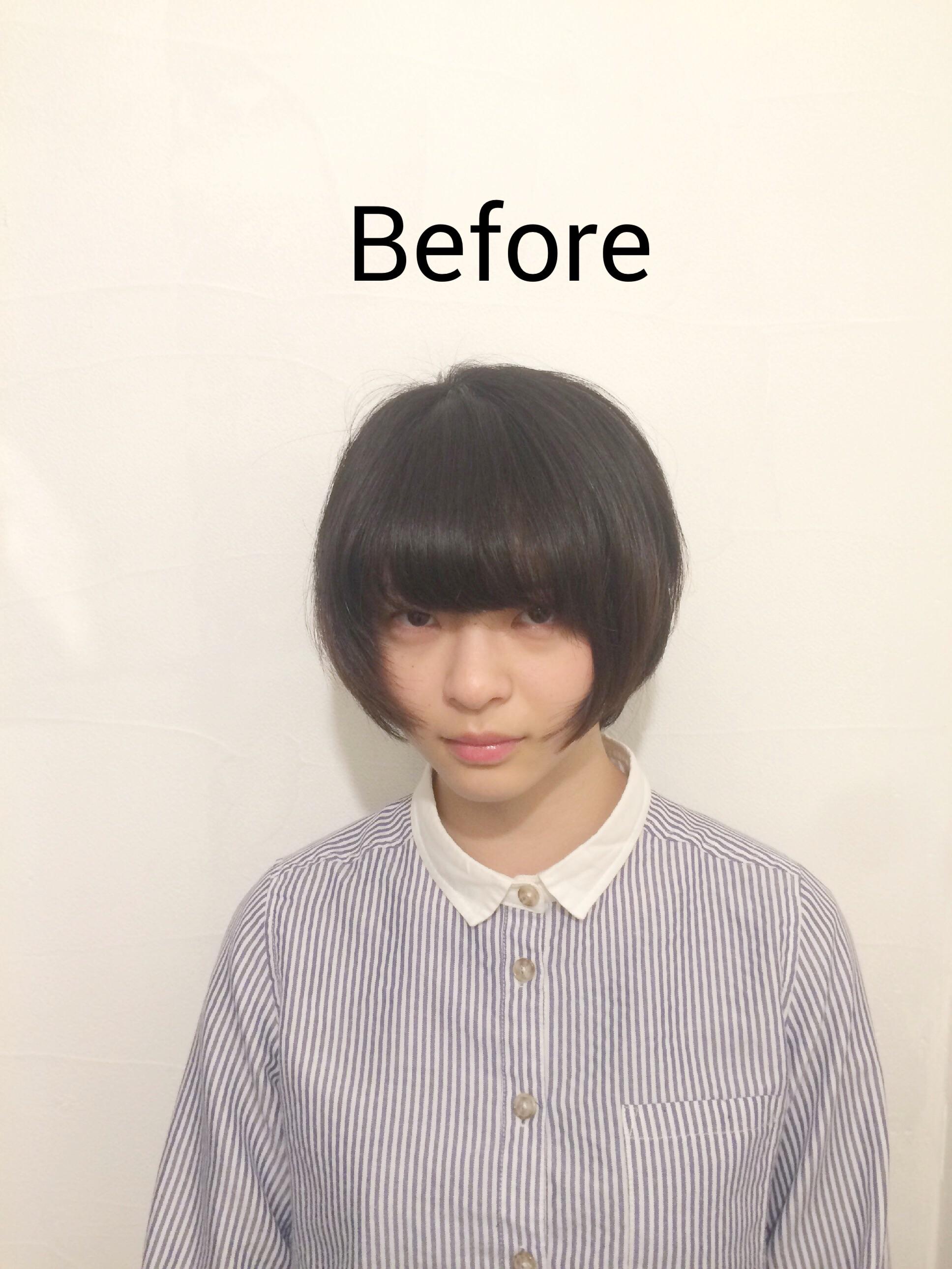 最新のヘアスタイル 髪型 くせ毛 ショート  くせ毛を活かした2WAYショート .